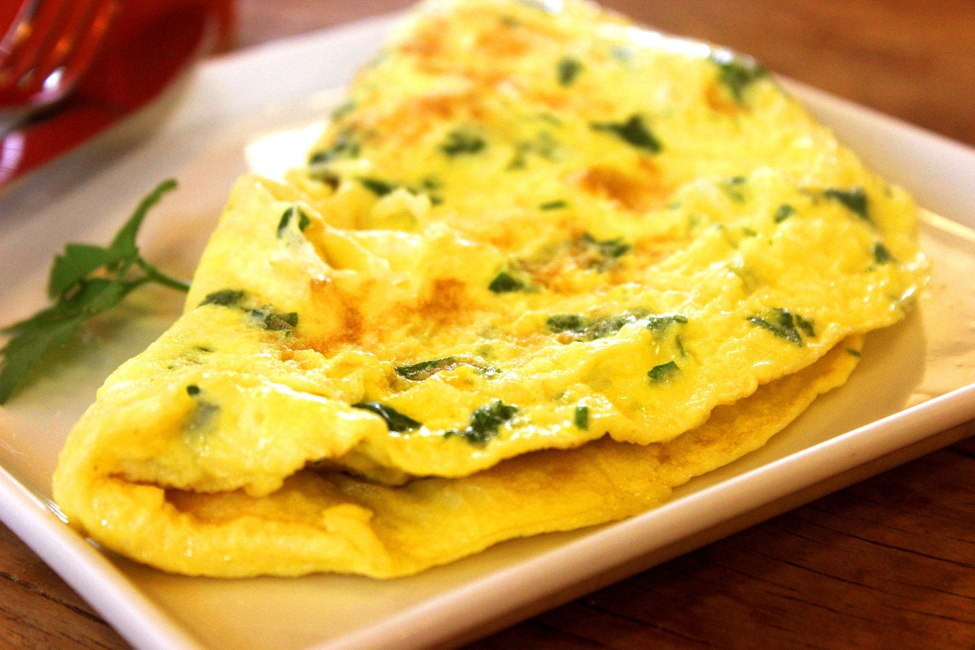 Vaječná omeleta s parmazánem je skvělou volbou / foto: pixabay.com