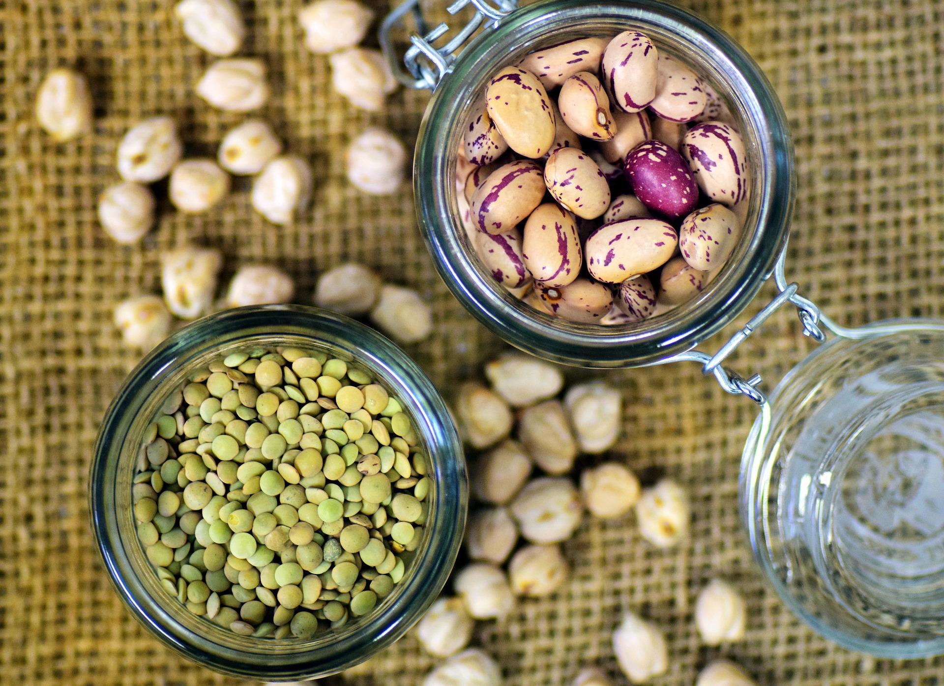 Luštěniny jsou významným zdrojem rostlinných bílkovin / foto: pixabay.com