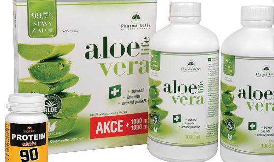 Recenze a zkušenosti s AloeVeraLife 1+1 ZDARMA (1000 ml+1000 ml) + Protein aktiv 90 tbl. ZDARMA