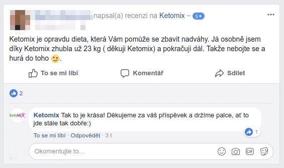 Hodnocení diety KetoMIX