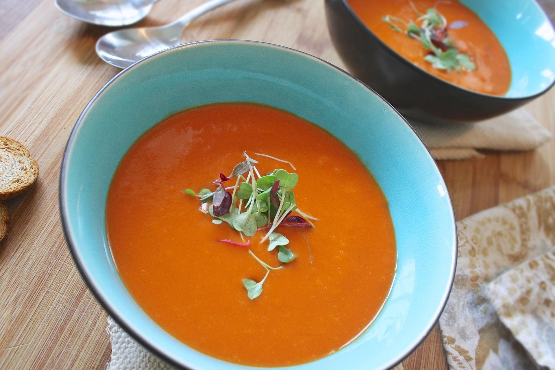 Zeleninová polévka obsahuje jen minimum kalorií / foto: pixabay.com