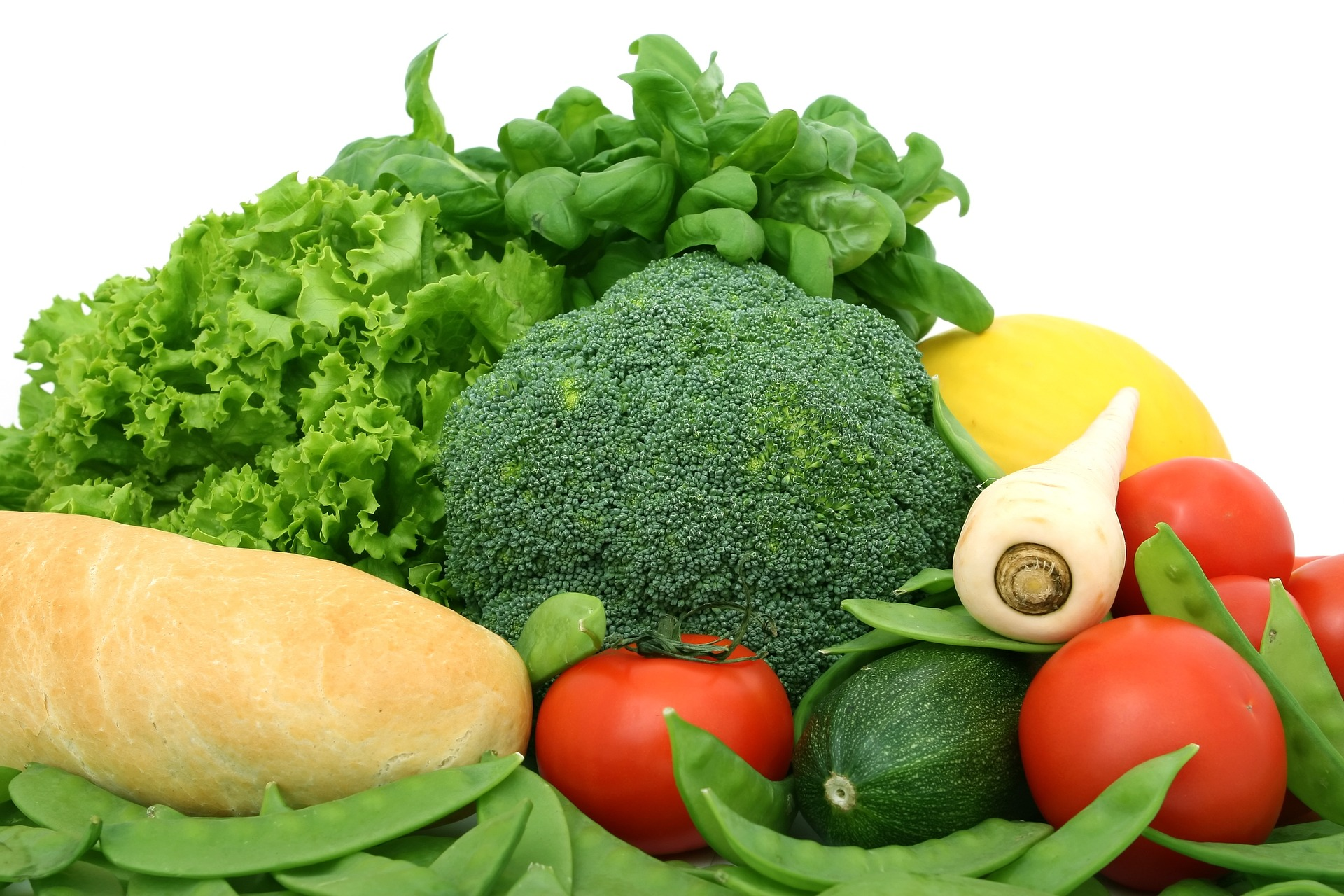 Zelenina je základ zdravého jídelníčku / foto: pixabay.com