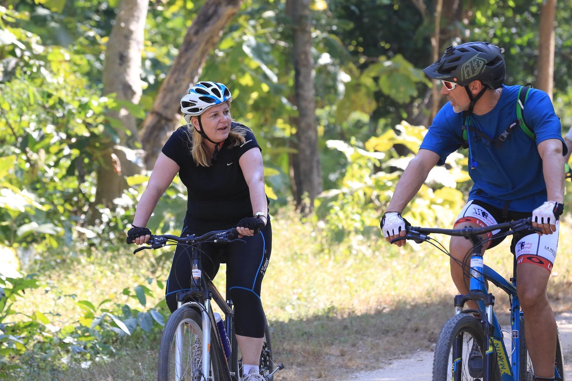 Jízda na kole je ideální forma aerobního pohybu / foto: pixabay.com