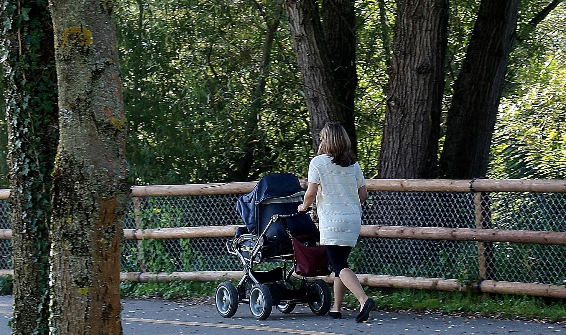 Dlouhé procházky s kočárkem jsou ideální formou pohybu / pixabay.com