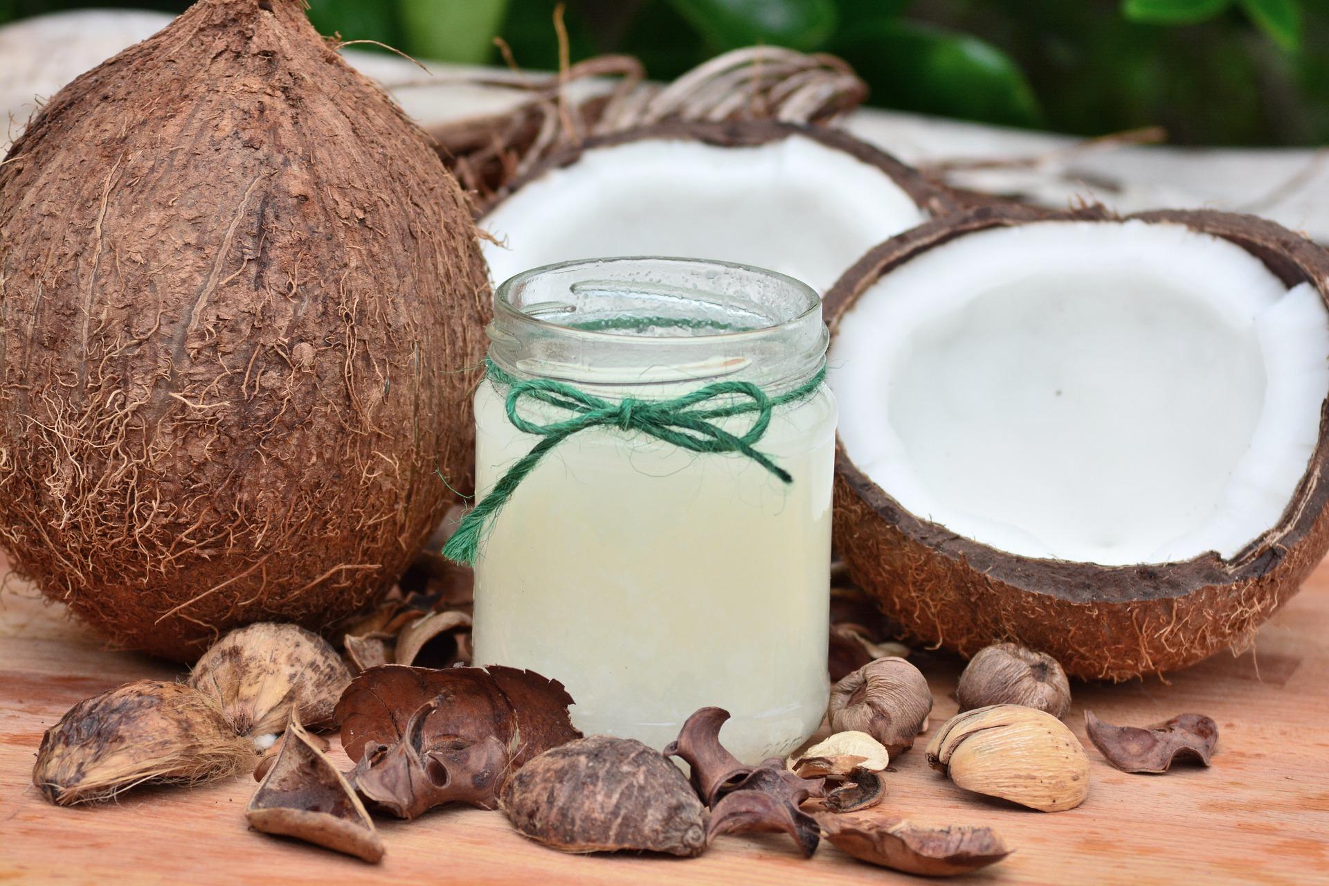 Kokosový olej zvolte čistě přírodní v bio kvalitě / foto: pixabay.com