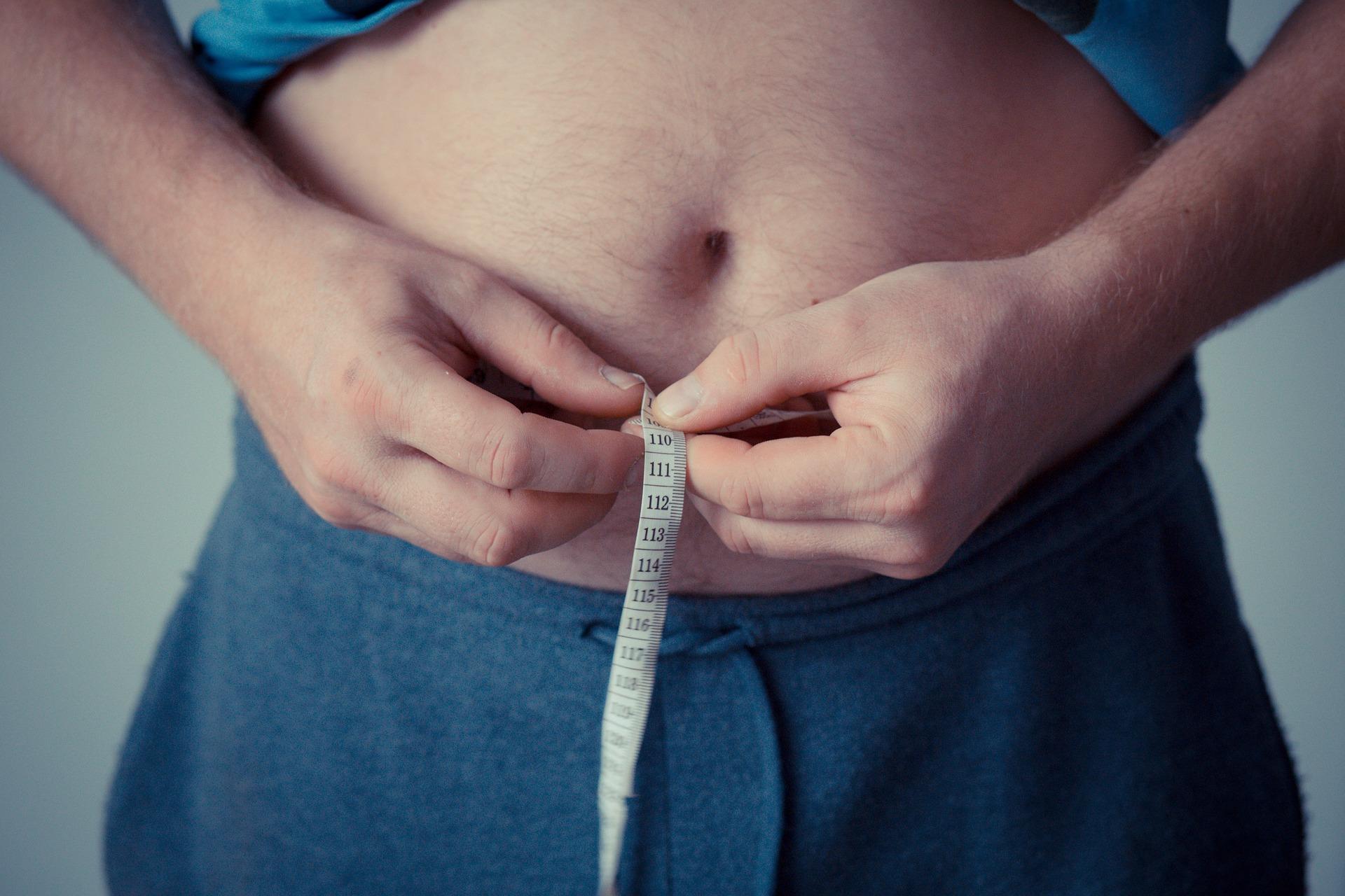 Muži s obvodem pasu přes 100 cm jsou ohroženi obezitou / zdroj: pixabay.com