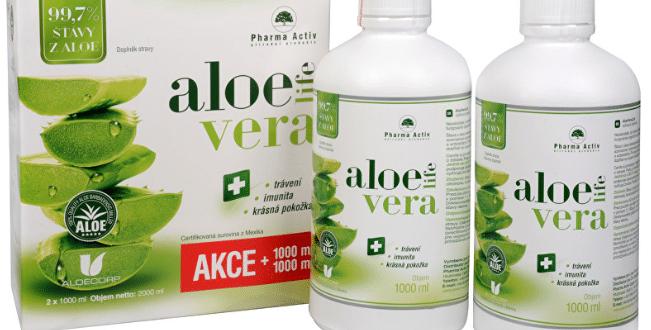 Recenze a zkušenosti s Aloe Vera Life 1+1 ZDARMA (1000 ml + 1000 ml)