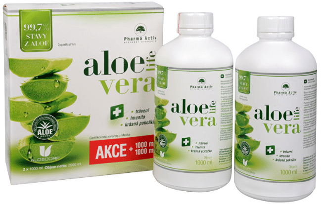 Aloe Vera Life obsahuje čistě přírodní šťávu nejvyšší kvality / foto: prozdravi.cz