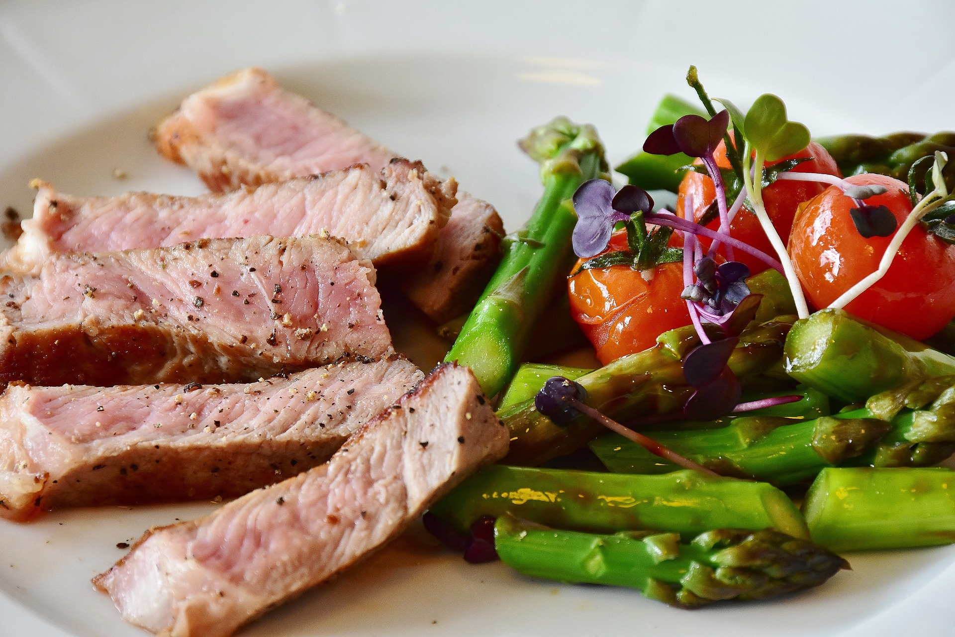Zelenina je ideální příloha k masu / foto: pixabay.com