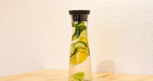 Okurková limonáda je nejlepší ledově vychlazená / foto: pixabay.com