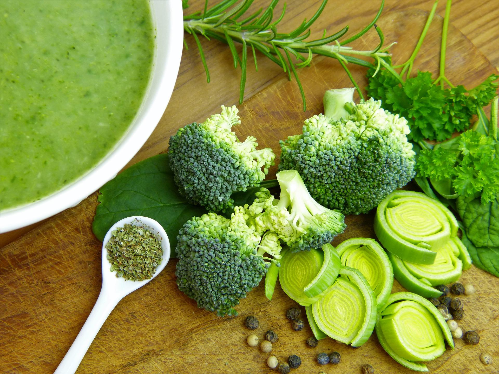 Brokolice obsahuje velké množství bílkovin / foto: pixabay.com