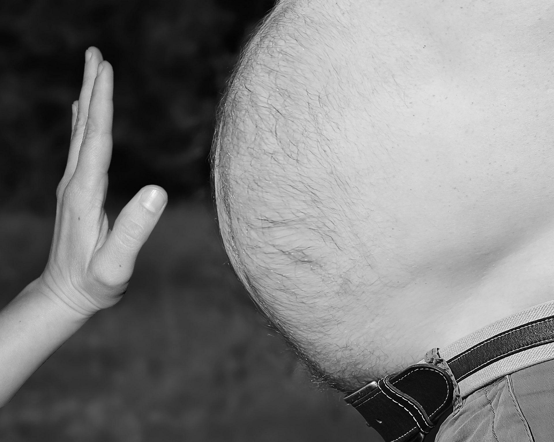 Pivní břicho není z piva, důvodem je nezdravý životní styl / foto: pixabay.com