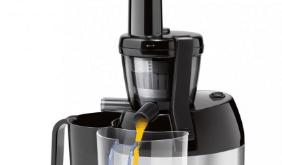 Odšťavňovač Sencor SSJ 5050SS se bud enádherně vyjímat v každé kuchyni / foto: 4home.cz