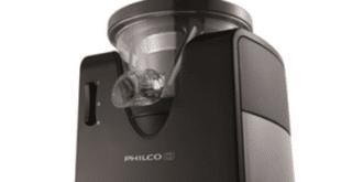Šnekový odšťavňovač Philco PHJE 5020 je bytelný přístroj / foto: 4home.cz
