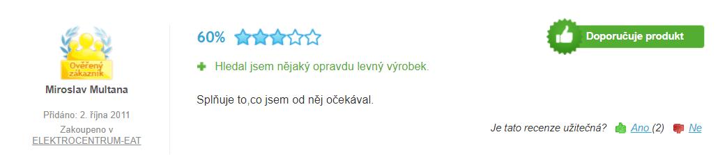Odšťavňovač Orava OS 101 splňuje požadavky nenáročných zákazníků / foto: heureka.cz