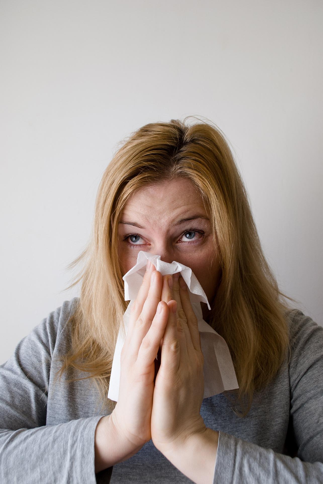 Alergická rýma trápí až třetinu lidské populace / foto: pixabay.com