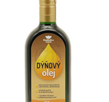 Dýňový olej EkoMedica Czech – recenze