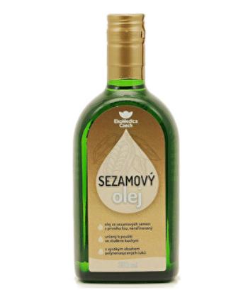 Sezamový olej EkoMedica Czech / foto: prozdravi.cz