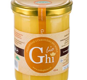 Recenze BIO Ghí: Přepuštěné máslo bez laktózy a lepku