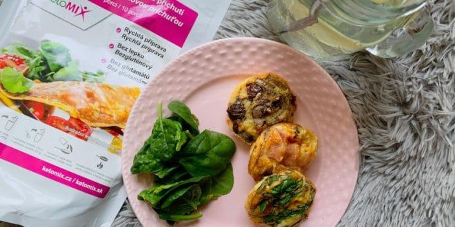 Zeleninové fitness muffiny bez mouky musíte zkusit