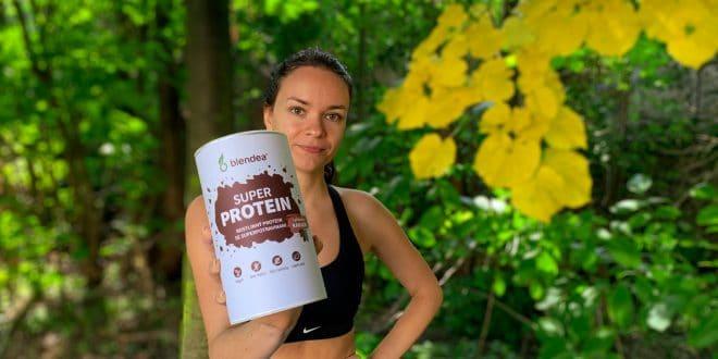 Recenze Blendea SUPERPROTEIN: Dodejte tělu rostlinné bílkoviny