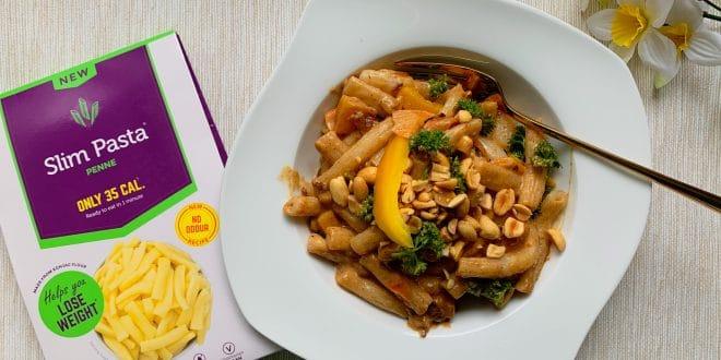 Lehké Pad Thai z konjakových těstovin: Můžete jíst a hubnout