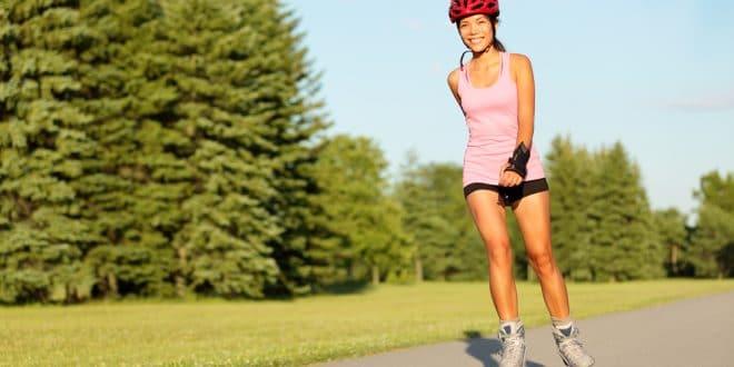 Hubnutí na kolečkových bruslích je účinné, rychlé a zdravé